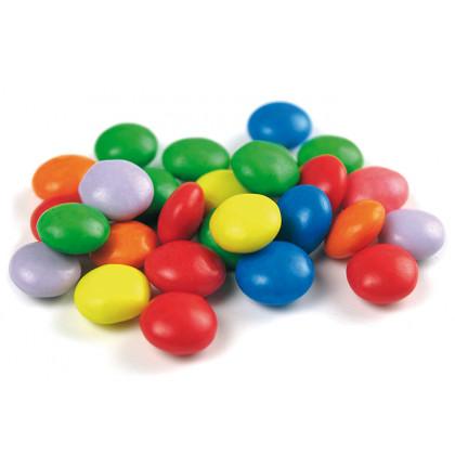 Botones Multicolor de Chocolate con Leche (1kg), Sosa
