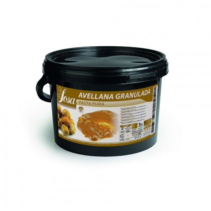 Pasta Pura de Avellana Granulada (5kg), Sosa