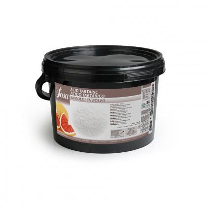 Ácido Tartárico (3kg), Sosa