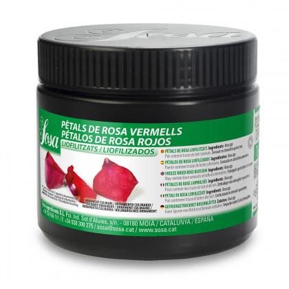 Pétalo de Rosa Roja Liofilizado (7g-560u), Sosa