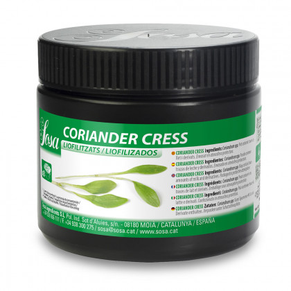 Coriander Cress Liofilizado (10g), Sosa