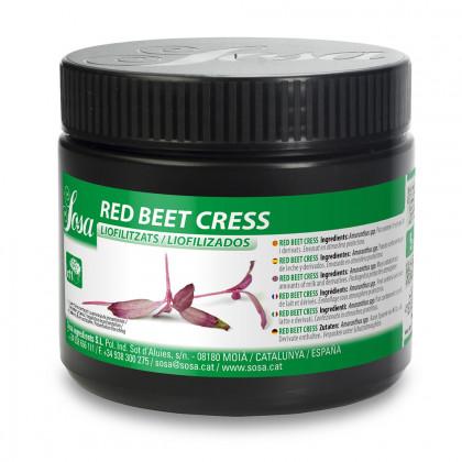 Red Beet Cress Liofilizado (5g), Sosa