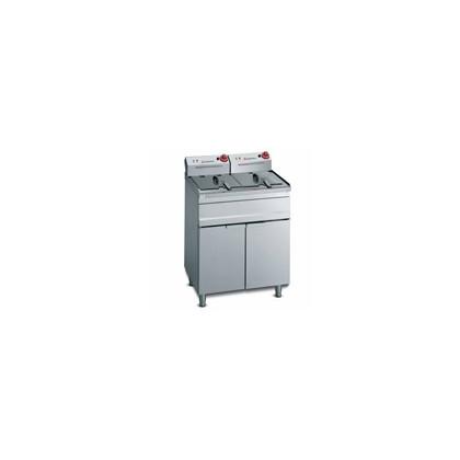Freidora eléctrica de pie (2 cubas) FES-15+15 400/50-60H/3N
