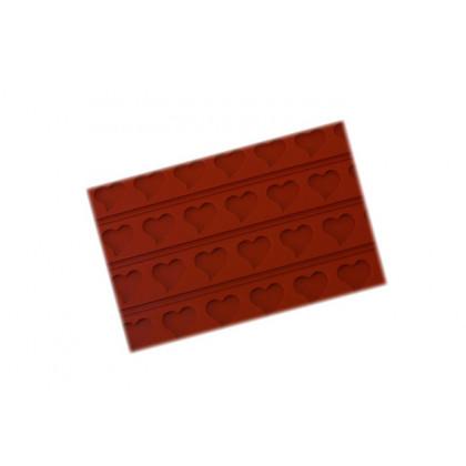 Tapete de decorativo RELIEF08 Corazones (400x600h3mm) Tapis Relief, SilikoMart