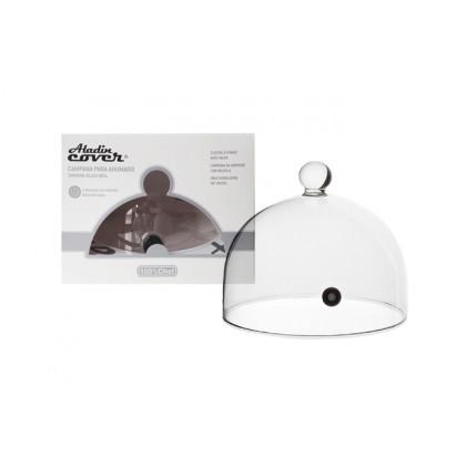 PACK 1 - Campana Aladín Cover 18cm con válvula (Ø18xh15cm), 100%Chef