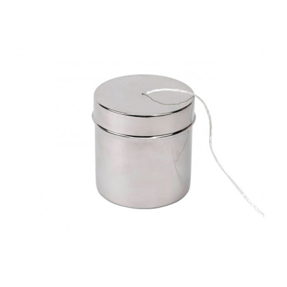 Contenedor hilo bramante con ovillo (Ø11x12cm), 100%Chef