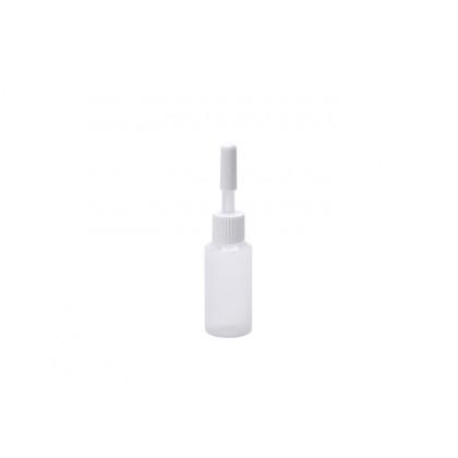 Micro biberón desechable con tapón 10ml (Ø20xh80mm) - 50 unidades, 100%Chef