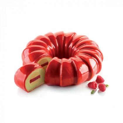 Kit Red Tail (2 moldes+cortapasta) TortaFlex, Silikomart