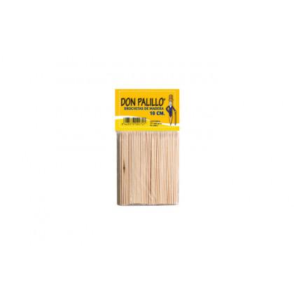 Pincho de madera (10cm) - 200 unidades, 100%Chef