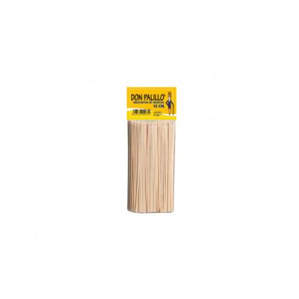 Pincho de madera (15cm) - 200 unidades, 100%Chef