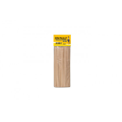 Pincho de madera (20cm) - 100 unidades, 100%Chef