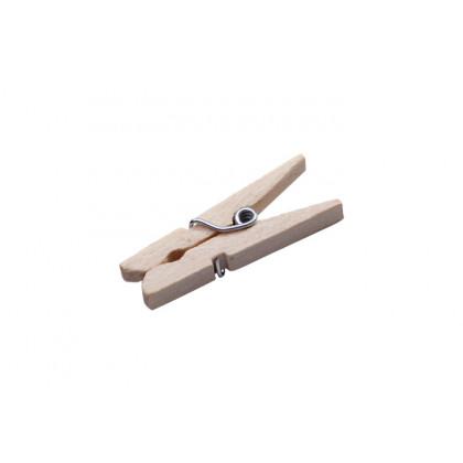 Pinza tendedero mini (30x10x10mm) - 100 unidades, 100%Chef