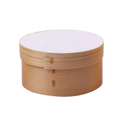 Quesera madera XL (Ø85xh40mm) - 10 unidades, 100%Chef