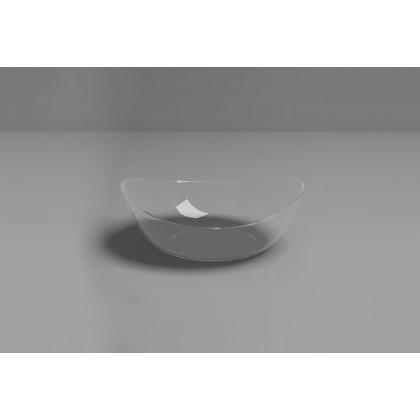 Plato hondo degustación Sphera transparente (90x84x32mm) - 100 unidades, 100%Chef