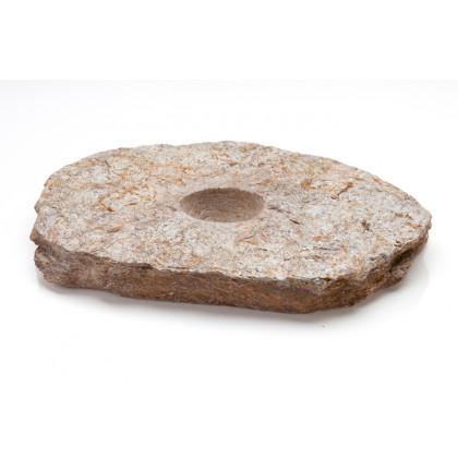 Plato Meteorite, plato de cuarcita (21x17x2cm), 100%Chef