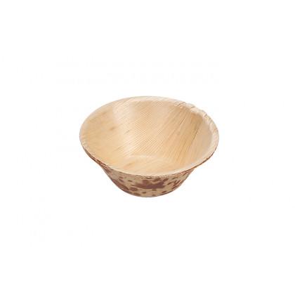 Mini bol de palma (Ø75x30mm) - 50 unidades, 100%Chef