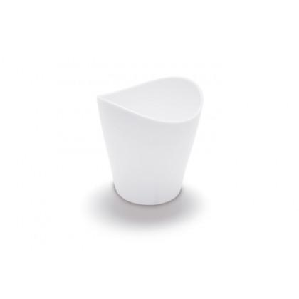 Vaso degustación Sphera 9cl blanco (Ø60x64cm) - 100 unidades, 100%Chef