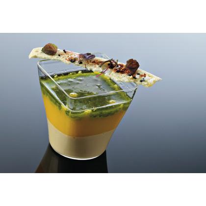 Vaso degustación Hola 9cl transparente (51x51xh55cm) - 96 unidades, 100%Chef