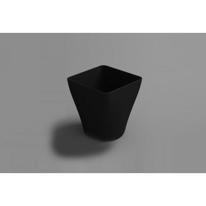 Vaso degustación Hola 9cl negro (51x51xh55cm) - 96 unidades, 100%Chef