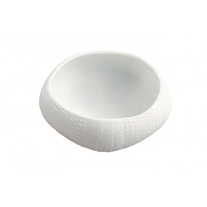 Erizo XXL 110ml, plato de porcelana (Ø80xh35mm) - 3 unidades, 100%Chef