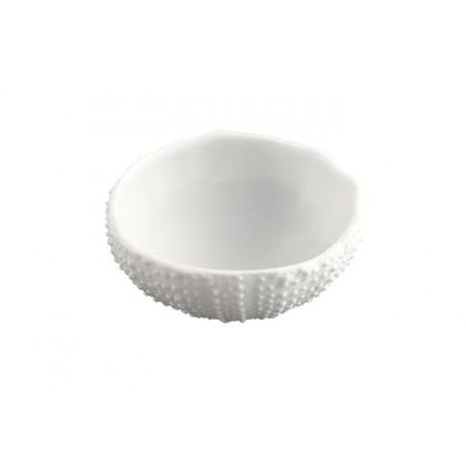 Erizo XS 30ml, plato de porcelana (Ø50xh25mm) - 3 unidades, 100%Chef