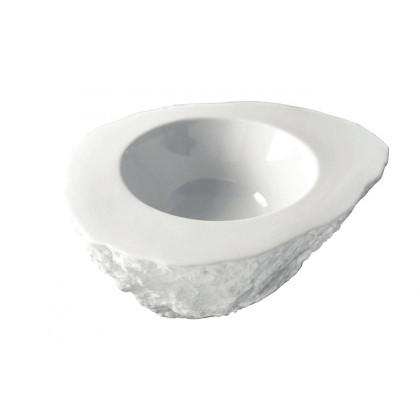Roca XL 170ml, plato de porcelana (160x120xh70mm), 100%Chef