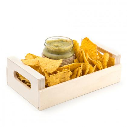 Caja de Verduras (40x12h6cm), 100%Chef - 5 unidades