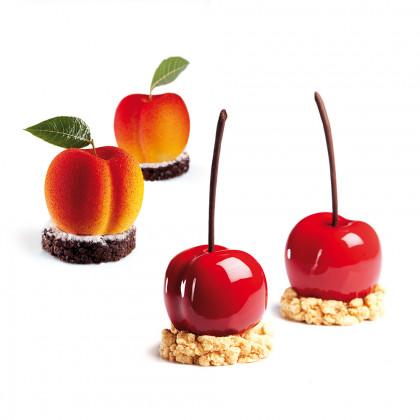 Molde de Silicona PX4331 Cherry/Peach 58x53h46mm (20 porciones) TuttiFrutti, Pavoni