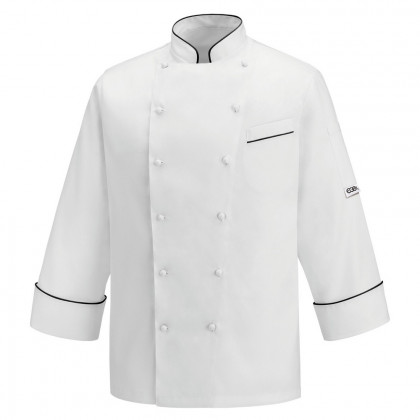 Chaqueta Chef Andrea Black Piping, Egochef