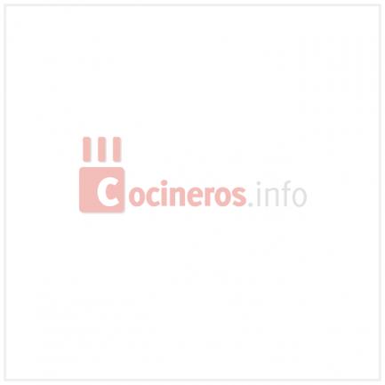 Aro cuadrado redondeado microperforado de acero inoxidable XF01 (8,5x8,5cm) Progetto Crostate, Pavoni