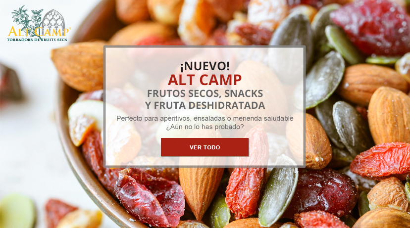 Alt Camp, snacks y frutos secos