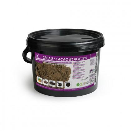 Cacao en Polvo Black 12% (2,5kg), Sosa