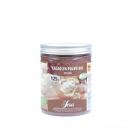 Cacao En Polvo Bio 20-22% Sosa (125g)