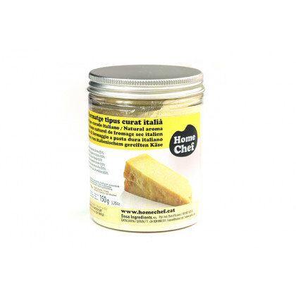 Extracto Natural de Queso tipo Italiano Curado en Polvo (150g), Home Chef