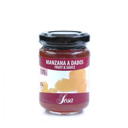 Fruit&Sauce de Manzana a Dados (170g), Home Chef