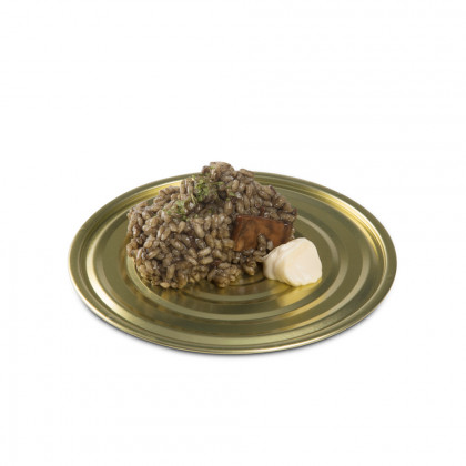 Plato Tapa XL hojalata (Ø16cm), 100%Chef - 50 unidades