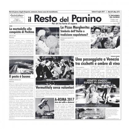 Papel de periódico Il Resto del Panino (29x30cm), 100%Chef - 500 unidades
