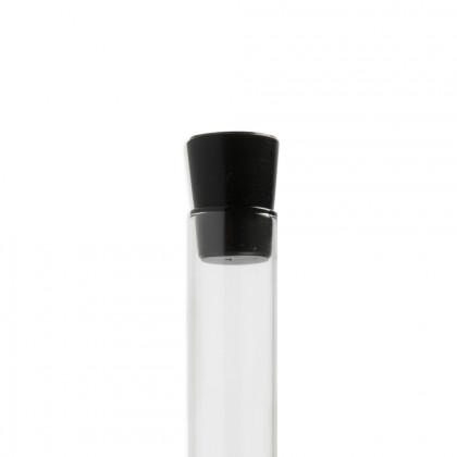 Tapón negro silicona (Ø2,5h3,3cm), 100%Chef - 10 unidades