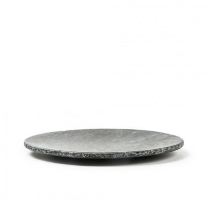Plato negro Canto Rústico XS (Ø25x3cm), 100%Chef