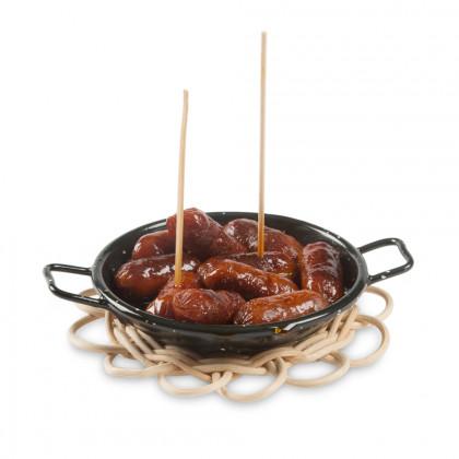 Paellera Mini (Ø10cm), 100%Chef - 24 unidades