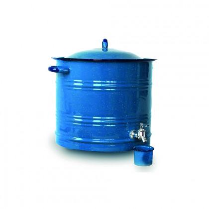 Dispensador de bebidas Peltre Azul