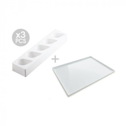 Multiflex gota 125/3 (3 piezas), Silikomart