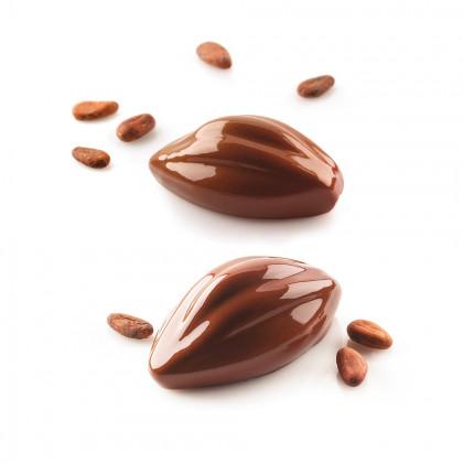 Molde de Silicona Cacao 120 102x57h42,5mm (6 porciones) SiliconFlex, Silikomart