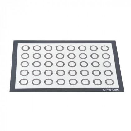 Tapete de silicona Fiberglass 1B con círculos (595x395mm), Silikomart
