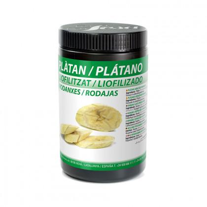 Plátano a Rodajas Liofilizado (100g), Sosa