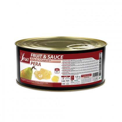 Fruit&Sauce de Pera a Dados 1x1cm (1,5kg), Sosa