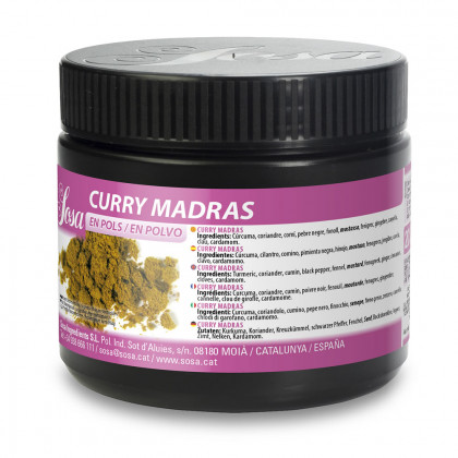 Curry de Madrás (200g), Sosa