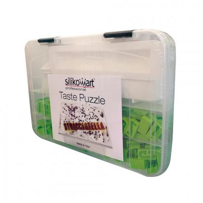 Molde de silicona Taste Puzzle, Silikomart