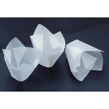 Molde de papel siliconado Minisouflé (Ø30-Ø60xh35mm), 100%Chef - 100 unidades