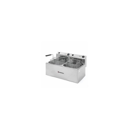 Freidora electrica 2 cubos F-10+10 2x6000W/2x400V/2x7L